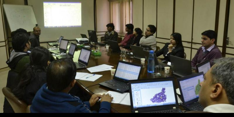 Training session for NDDB DS employees